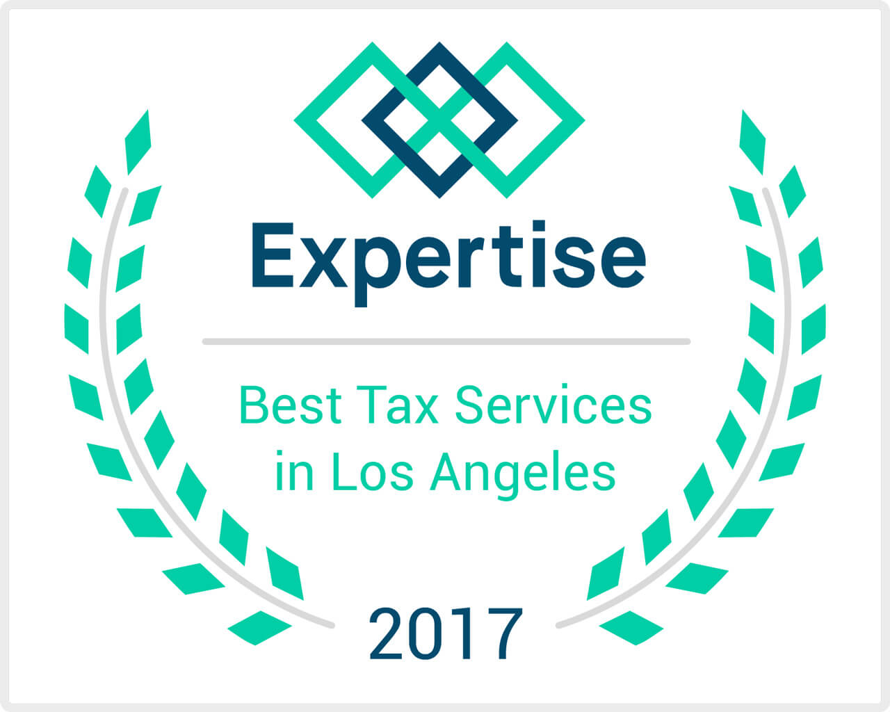 "Tonden & Associates named one of the top twenty ""Best Tax Services in Los Angeles"" by Expertise.com"